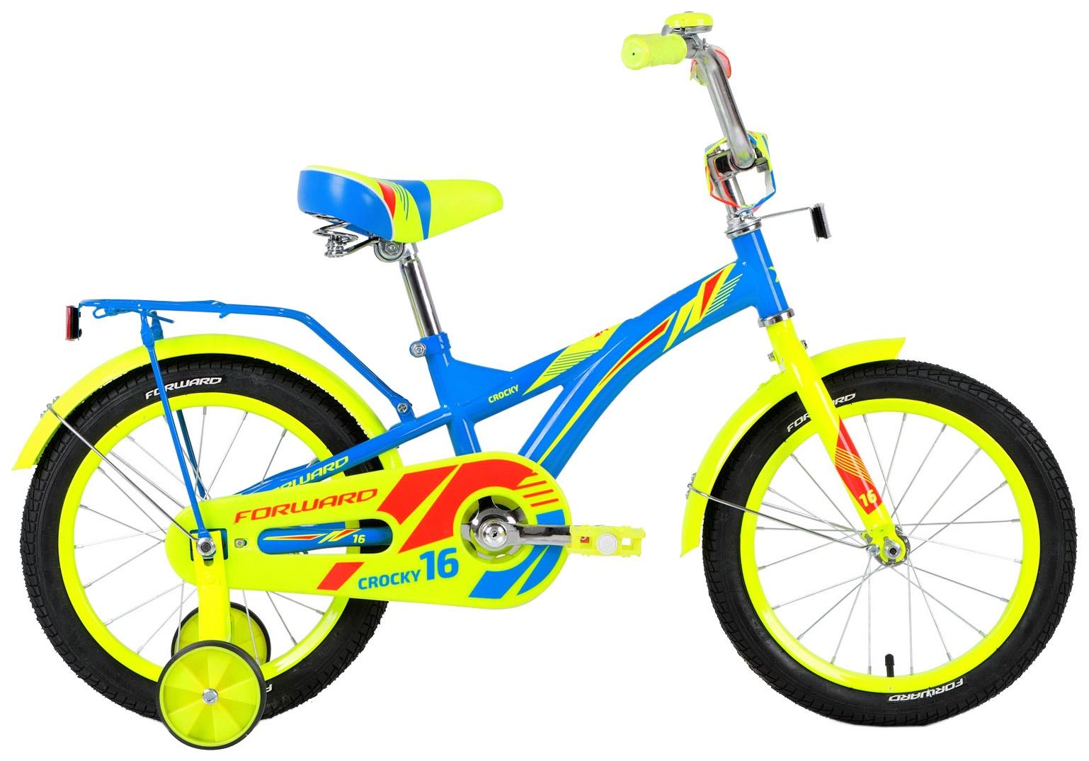 Велосипед Forward CROCKY 16 2018, RBKW8LNG1015, синий
