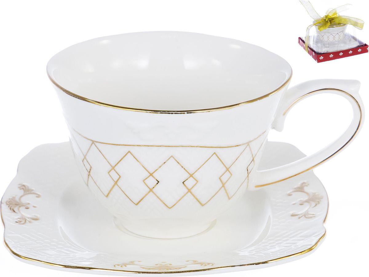 Чайная пара Balsford Грация Амандин, 101-12003, 2 предмета набор чайный 2 пр цветочная грация 250 мл под уп 1021433