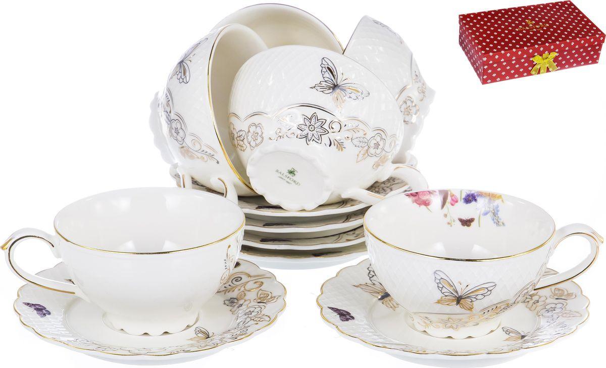 Набор чайный Balsford Грация Аниса, 101-12022, 12 предметов набор чайный 2 пр цветочная грация 250 мл под уп 1021433