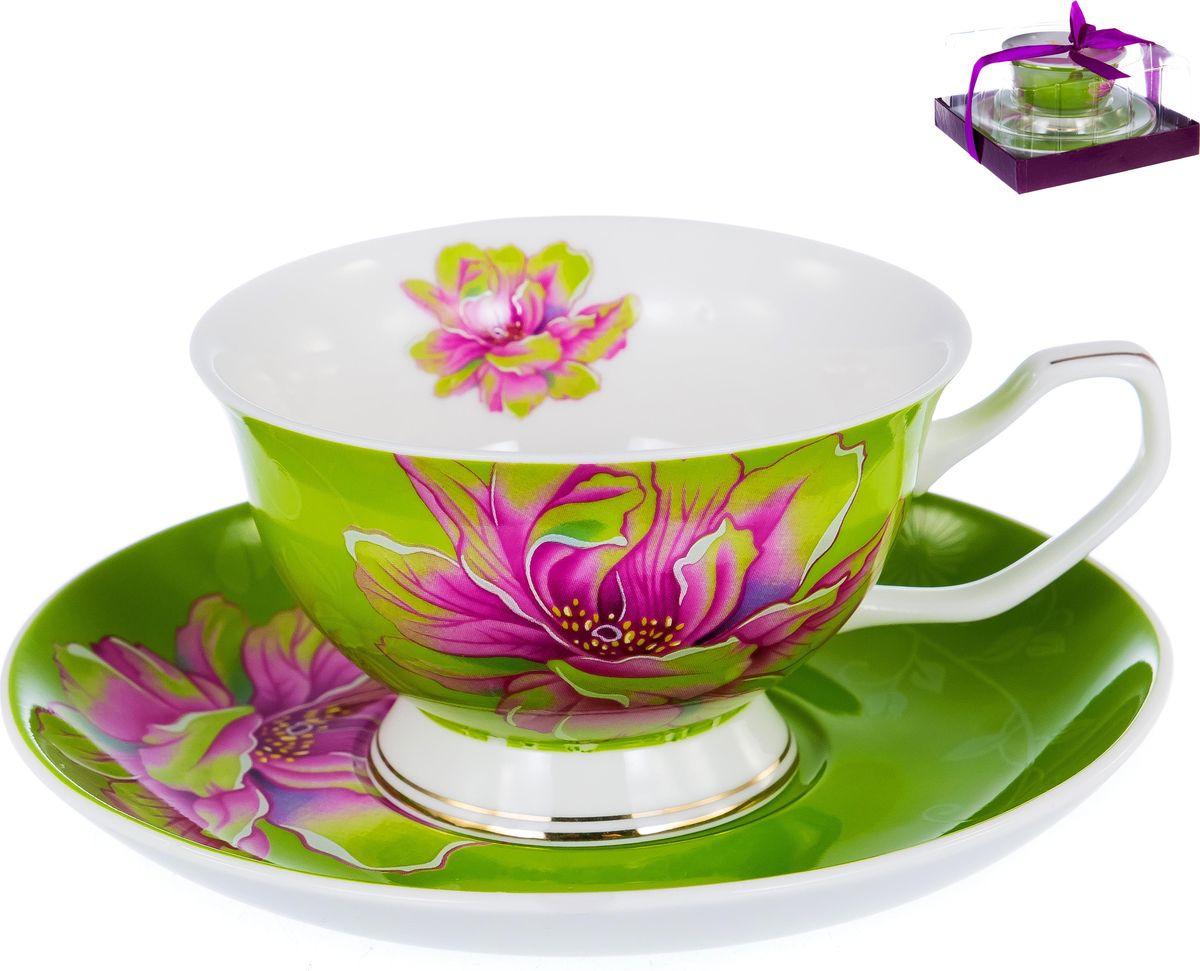 Чайная пара Balsford Палитра Шиповник грин, 149-04016, 2 предмета