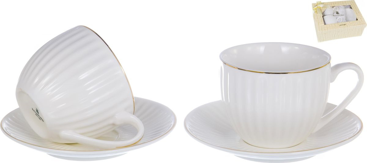 Набор чайный Balsford Грация Анжелика, 101-01017, 4 предмета набор для вина русские подарки 4 предмета подарочная упаковка