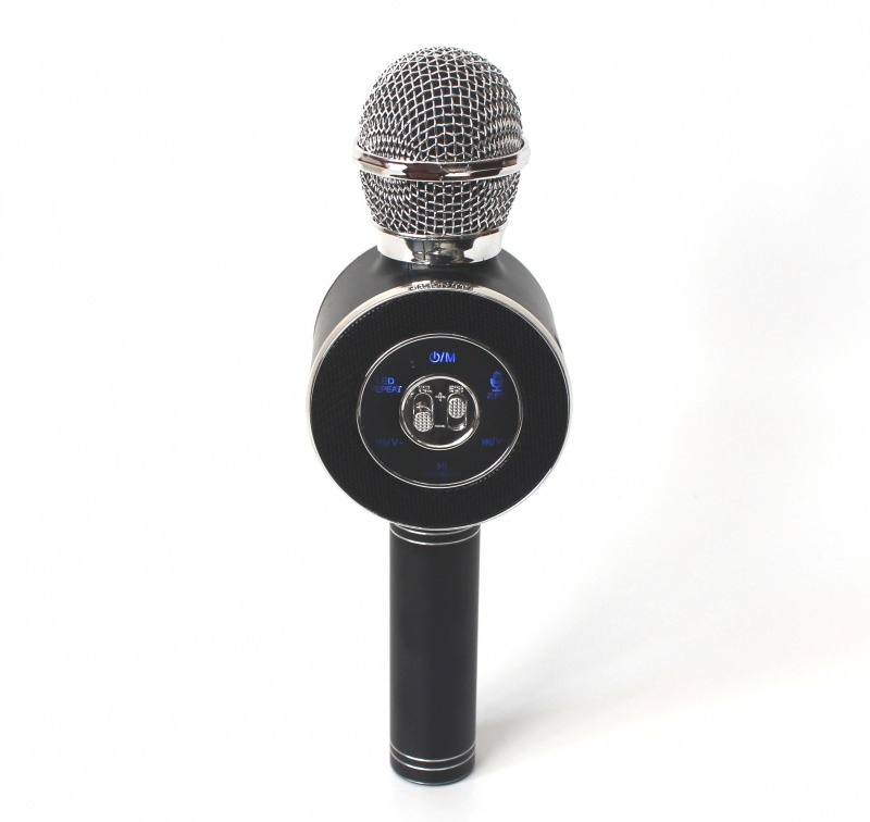 Микрофон Wster ws-668 , Ws-668bl, черный цена