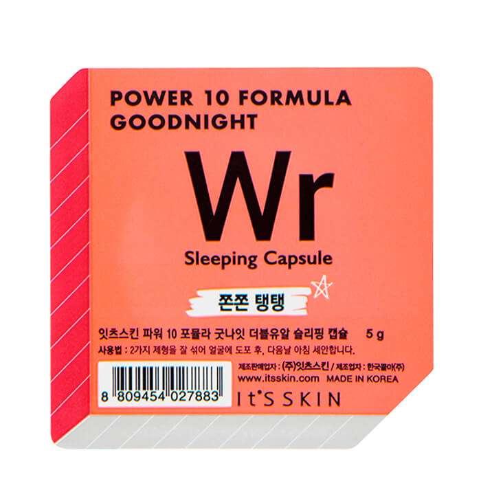 "Маска косметическая It's Skin It's Skin. Ночная маска-капсула  лифтин ""Power 10 Formula Goodnight Sleeping Capsule WR"", 5"