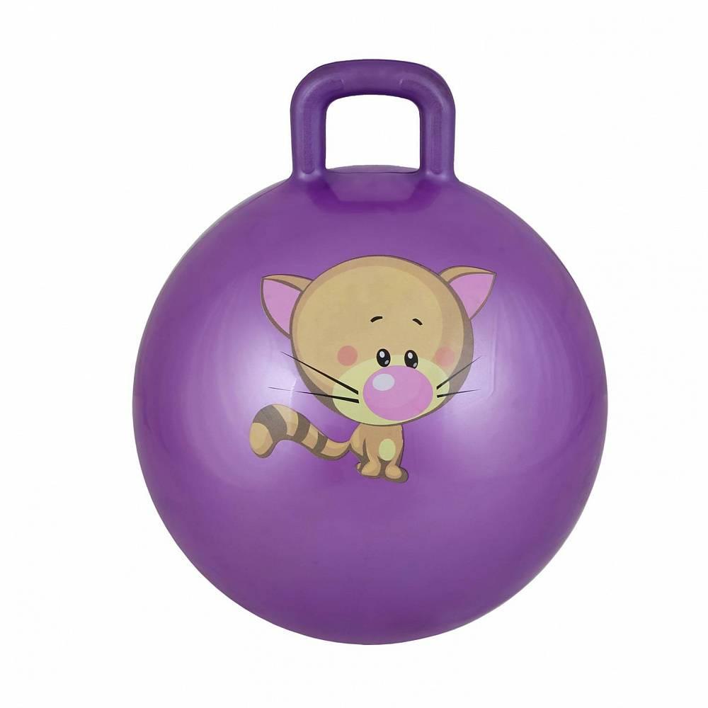 Мяч для фитнеса BodyForm BF-CHB01, BF-CHB01-12, фиолетовый мяч для фитнеса bodyform мяч гимнастический bf gb01m 10 25 см мини bf gb01m 03 фиолетовый