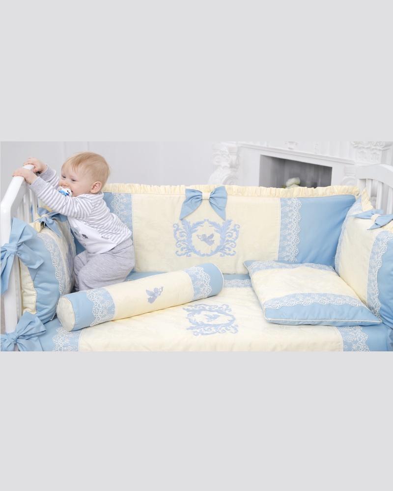 Комплект в кроватку Dream royal Ангел, голубой