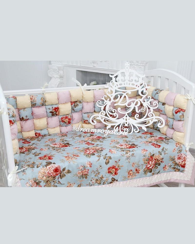 Комплект в кроватку Dream royal Фантазия, бежевый