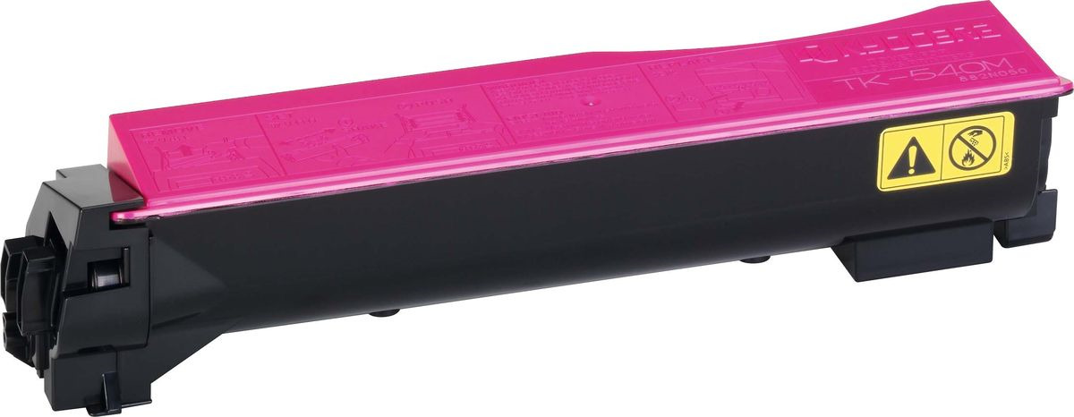 Картридж Kyocera TK-540M, пурпурный, для лазерного принтера chp 540m page 4