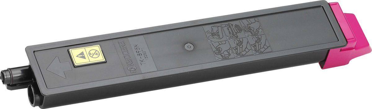 Картридж Kyocera TK-895M, пурпурный, для лазерного принтера цена