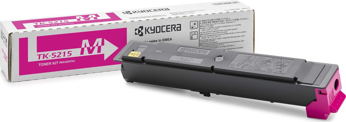 Картридж Kyocera TK-5215M, пурпурный, для лазерного принтера kyocera tk 8315m 6 000 стр magenta для taskalfa 2550ci