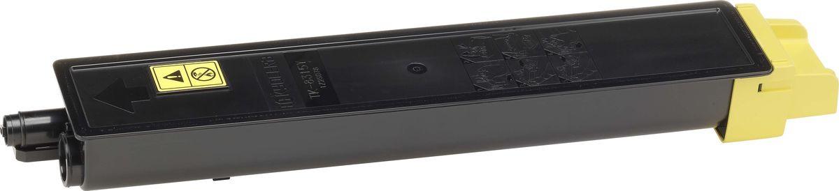 Картридж Kyocera TK-8315Y, желтый, для лазерного принтера kyocera tk 8315m 6 000 стр magenta для taskalfa 2550ci