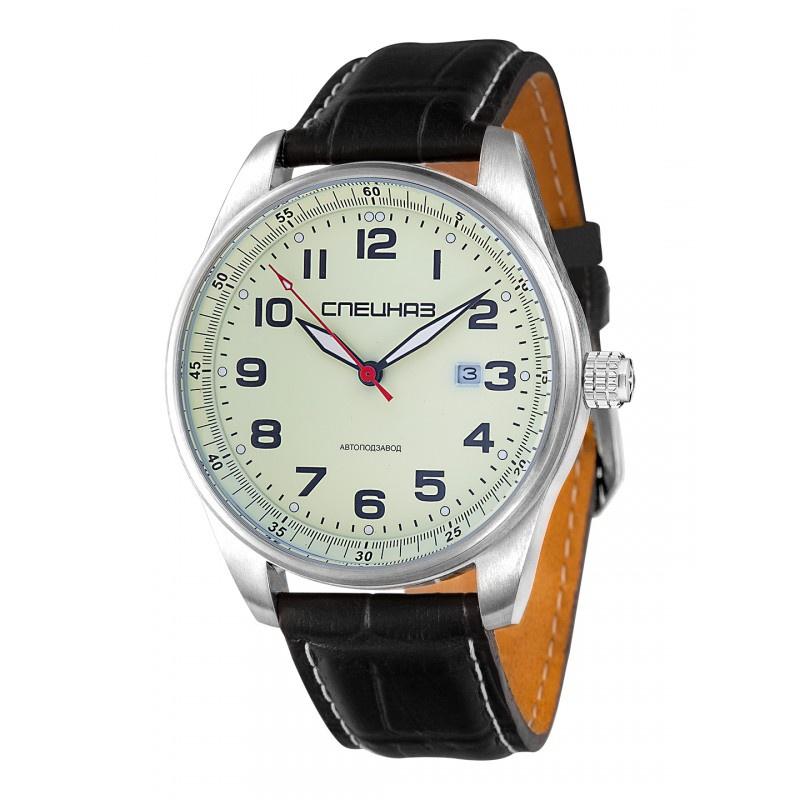 Часы Спецназ Профессионал, С9370269-8215, белый, серебристый все цены