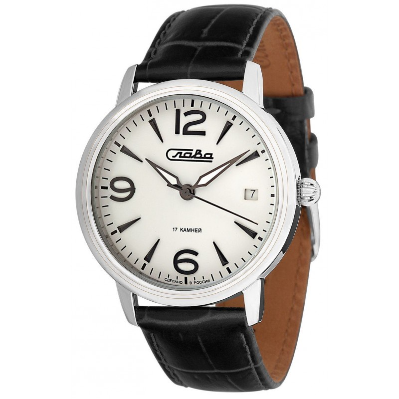 Часы Слава Традиция, 1470845/300-2414, белый, серебристый все цены