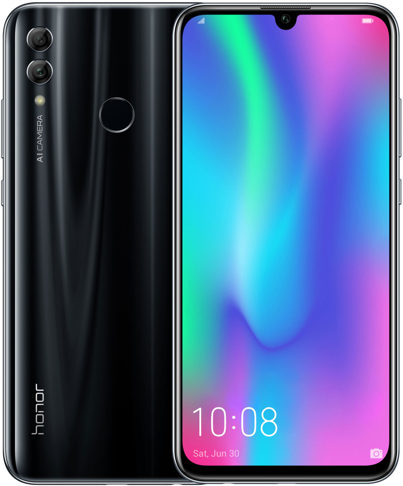 Смартфон Honor 10 Lite 3/32GB black huawei смартфон honor 9 lite 32gb серый grey