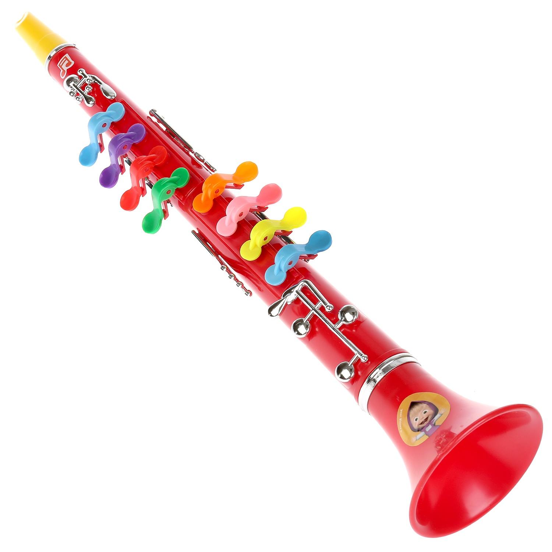 Музыкальная игрушка Играем вместе КЛАРНЕТ ИГРАЕМ ВМЕСТЕ МАША И МЕДВЕДЬ 3001 НА КАРТ., 177885