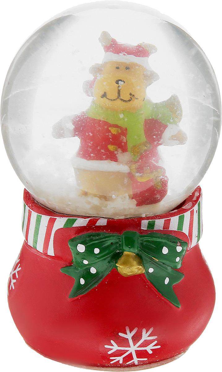 B&H Сувенир-водяной шар Волшебный мешочек, 6,5 см сувенир шар водяной со снегом дед мороз 5 5 7см