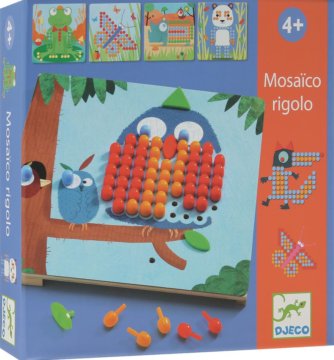 Djeco Мозаика Риголо недорго, оригинальная цена