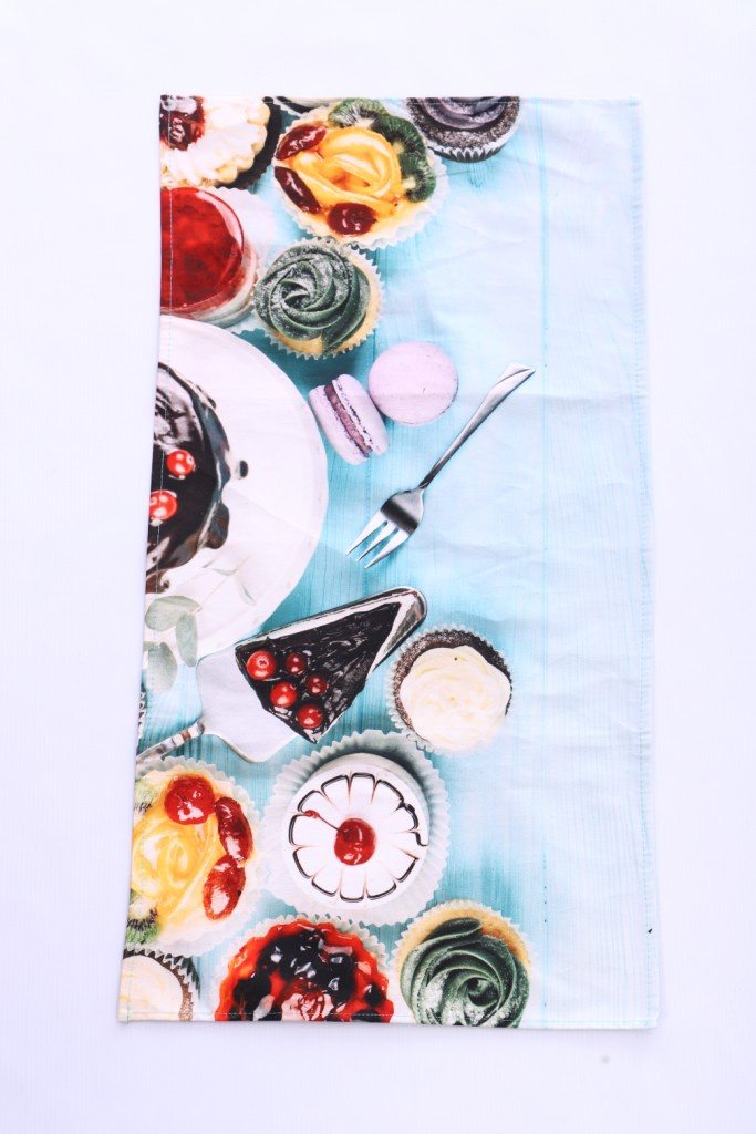 Полотенце кухонное Текстильная лавка Сладкоежка, Хлопок полотенце кухонное мультидом русский стиль 42 72 см