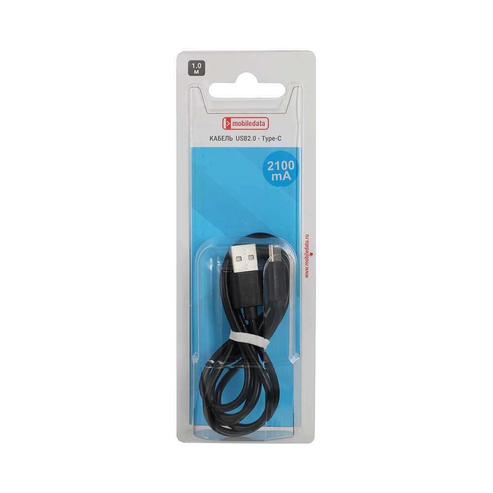 Кабель Mobiledata USB2.0 - Type-C, черный 50pcs micro usb 3 0 male to usb c usb 3 1 type c female extension data cable for macbook tablet 10cm by fedex