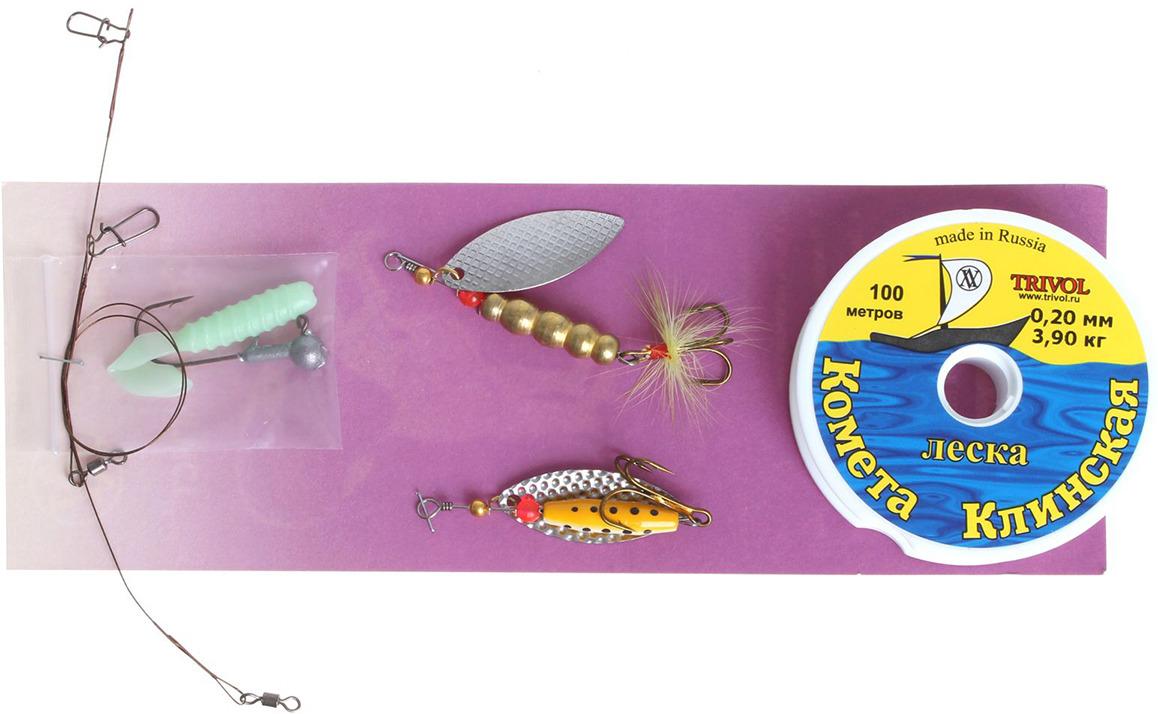 Набор рыболовный Спиннингист, летний, 1349043
