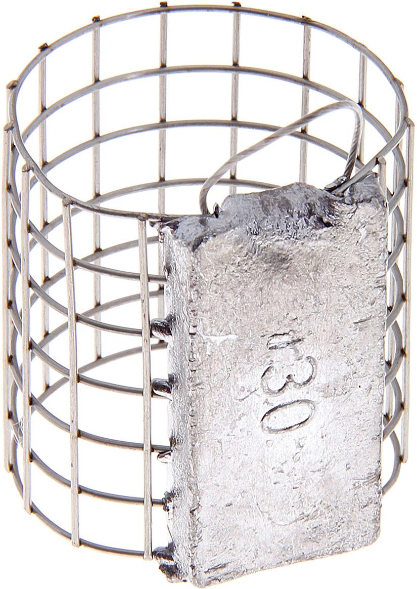 Кормушка для рыбы Onlitop для фидера с грузилом, 132252, 30 г недорого