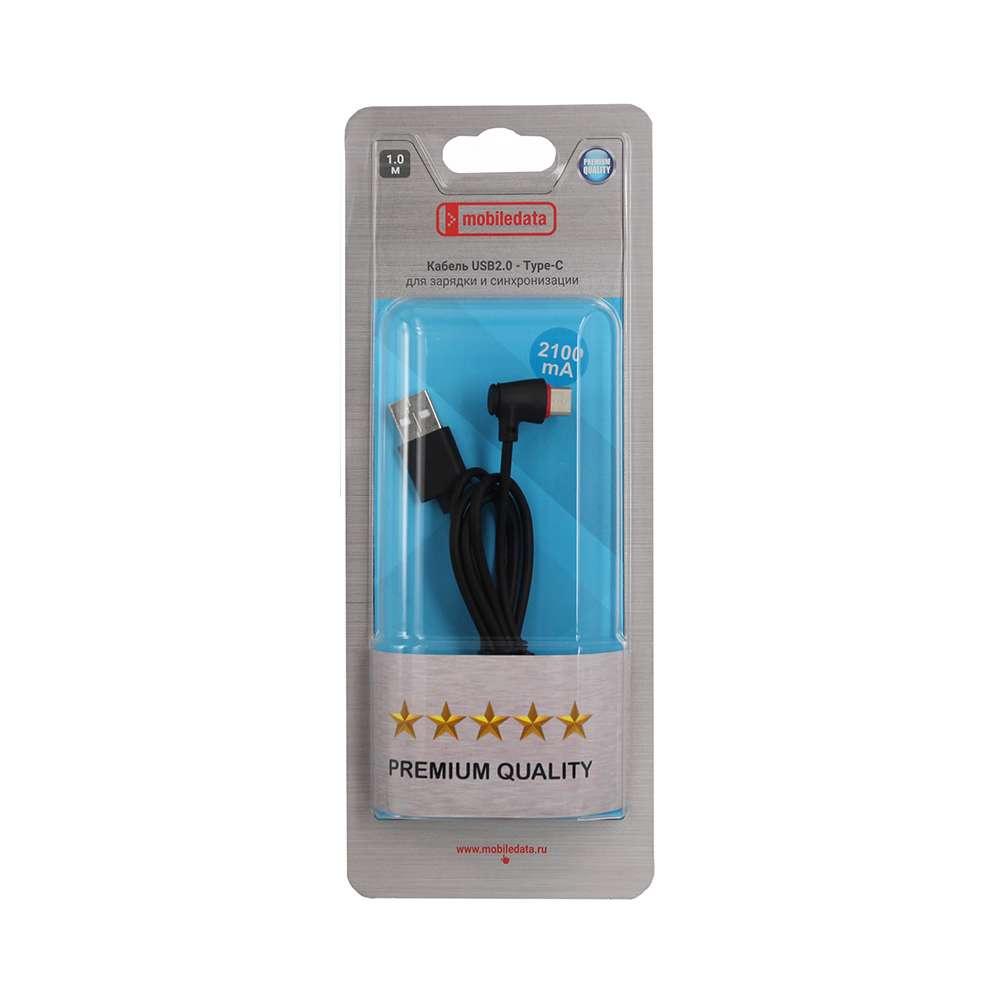 Кабель Mobiledata USB2.0 - Type-C для зарядки и синхронизации, черный цена