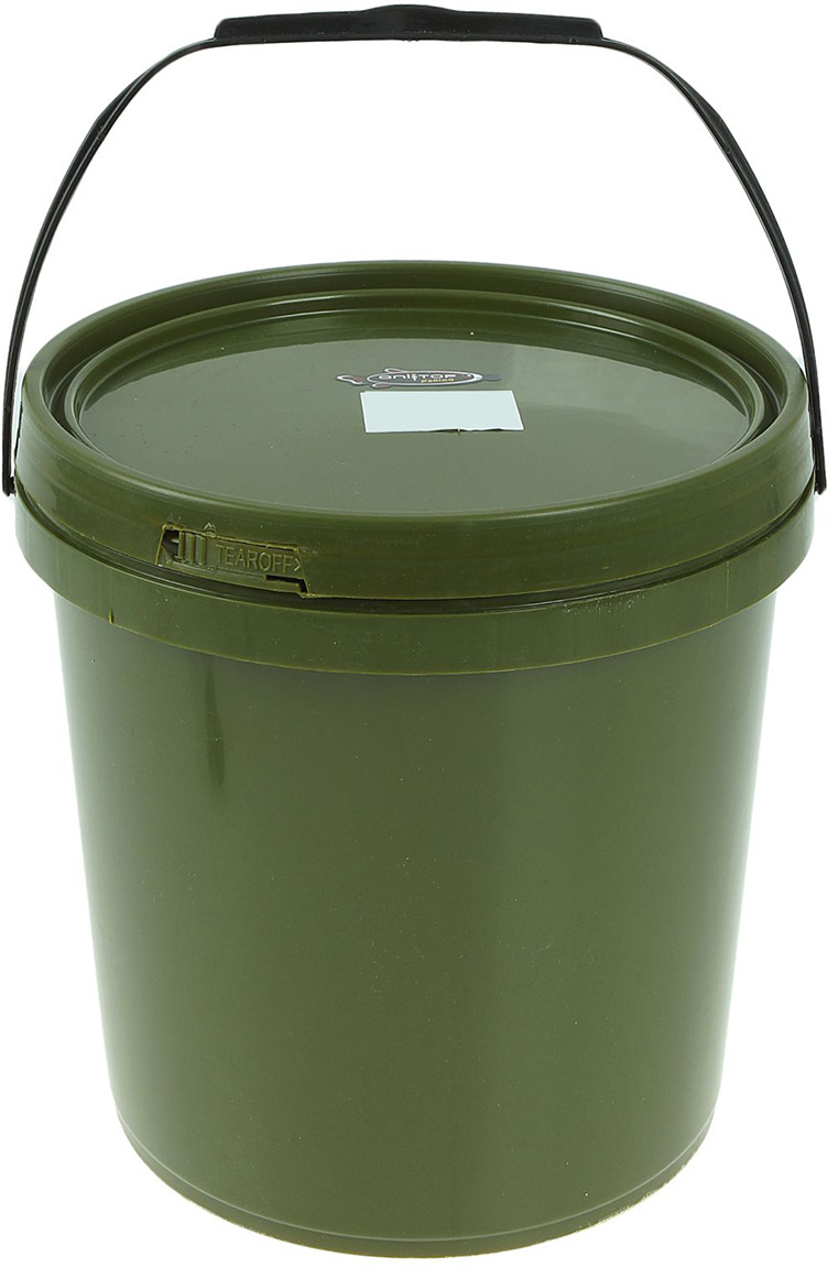 все цены на Ведро для прикормки Onlitop, 1045862, зеленый, 5 л онлайн