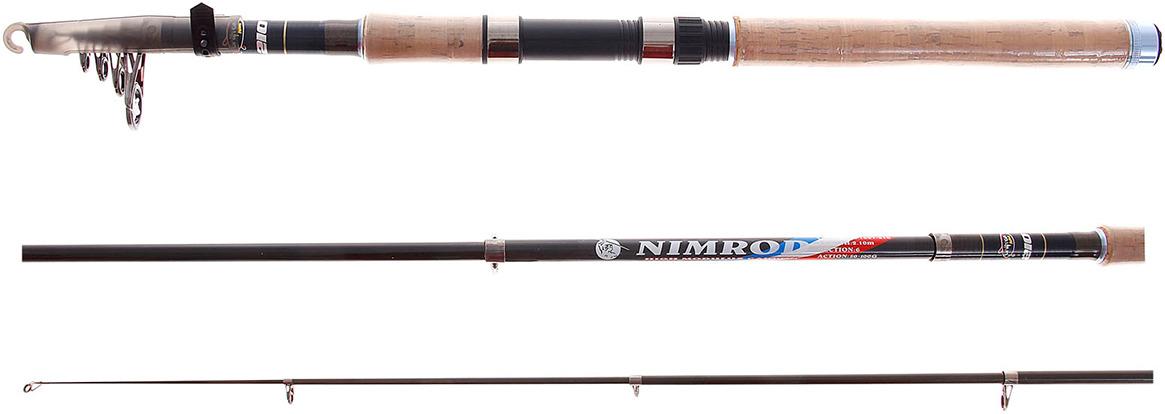 Спиннинг Onlitop Nimrod телескопический, 132581, 2,1 м, тест 50-100 г, 120 г