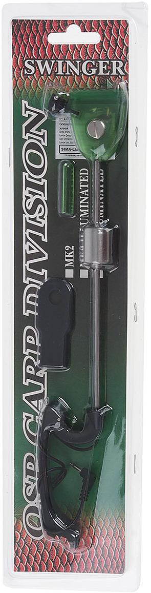 Сигнализатор поклевки Onlitop механический, 1233143, зеленый
