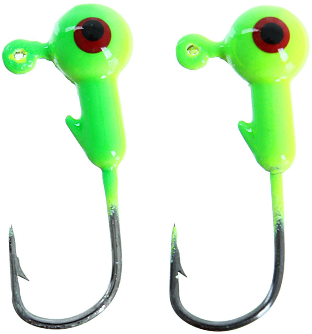 Джиг-головка Onlitop, 1233066, зеленый, желтый, 2 г, 2 шт 7 6cm 15g paillette fishing lures soft lure crankbaits tackle hooks