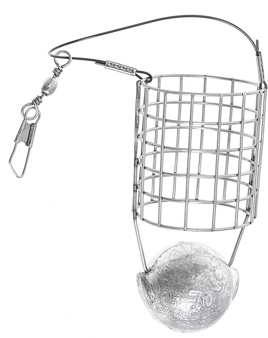 Кормушка для рыбы Onlitop Пуля фидерная, 1045914, 70 г