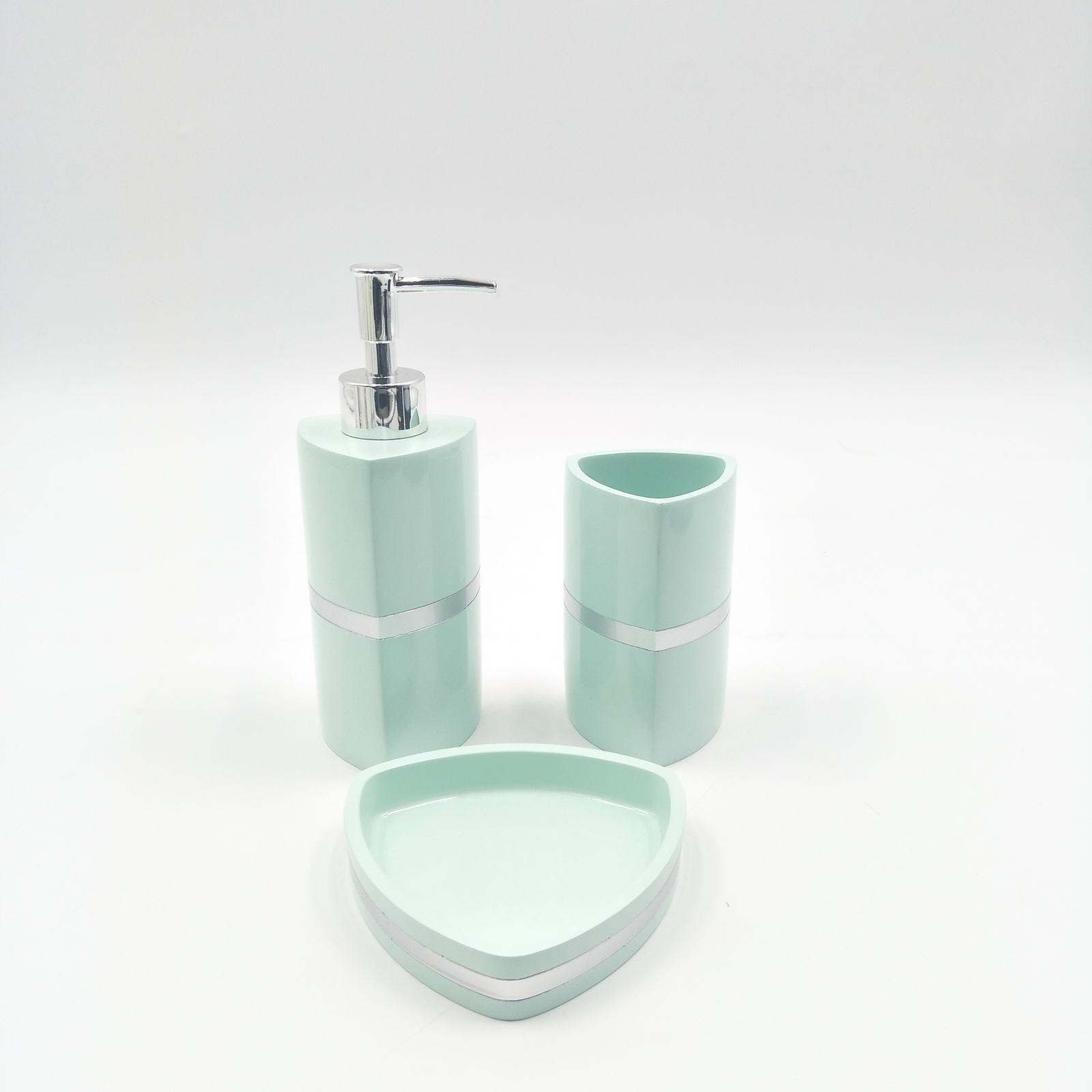 Набор для ванной комнаты Sofi de Marko ВК-55-менГ, ВК-55-менГ, бирюзовый
