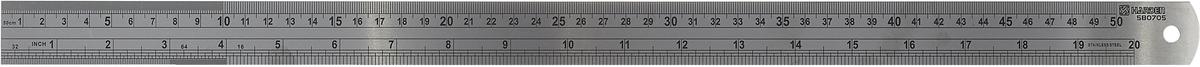 Линейка измерительная Harden, 580705, 50 см