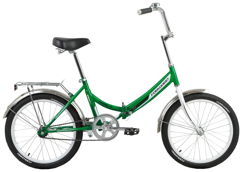 Велосипед Forward ARSENAL 20 1.0 зеленый 14
