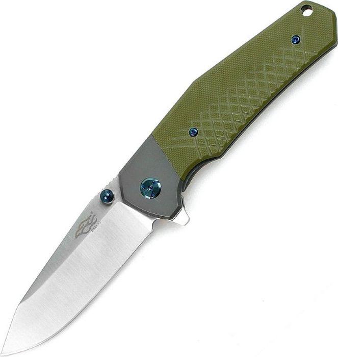 Складной нож Ganzo Firebird F7491, R47738, зеленый, длина лезвия 8.7 см