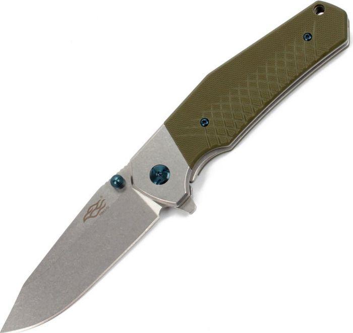 Складной нож Ganzo Firebird F7492, R47740, зеленый, длина лезвия 8.7 см
