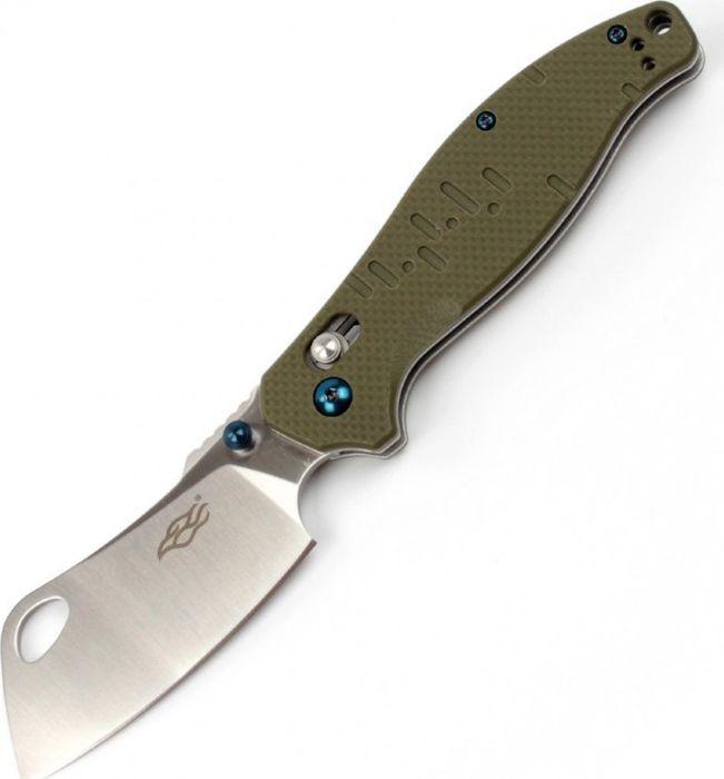 Складной нож Ganzo Firebird F7551, R47727, зеленый, длина лезвия 8.5 см