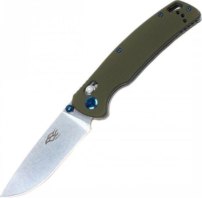 Складной нож Ganzo Firebird F7542, R40908, зеленый, длина лезвия 8.9 см