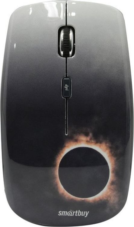 Беспроводная мышь Smartbuy 327AG Eclipse, SBM-327AG-EC-FC, серый цена и фото
