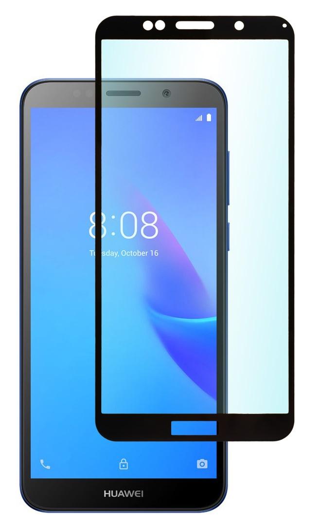 Защитное стекло skinBOX full screen, 4630042522800, черный защитное стекло interstep full screen cover 0 3мм sams a7 2017 a720 black