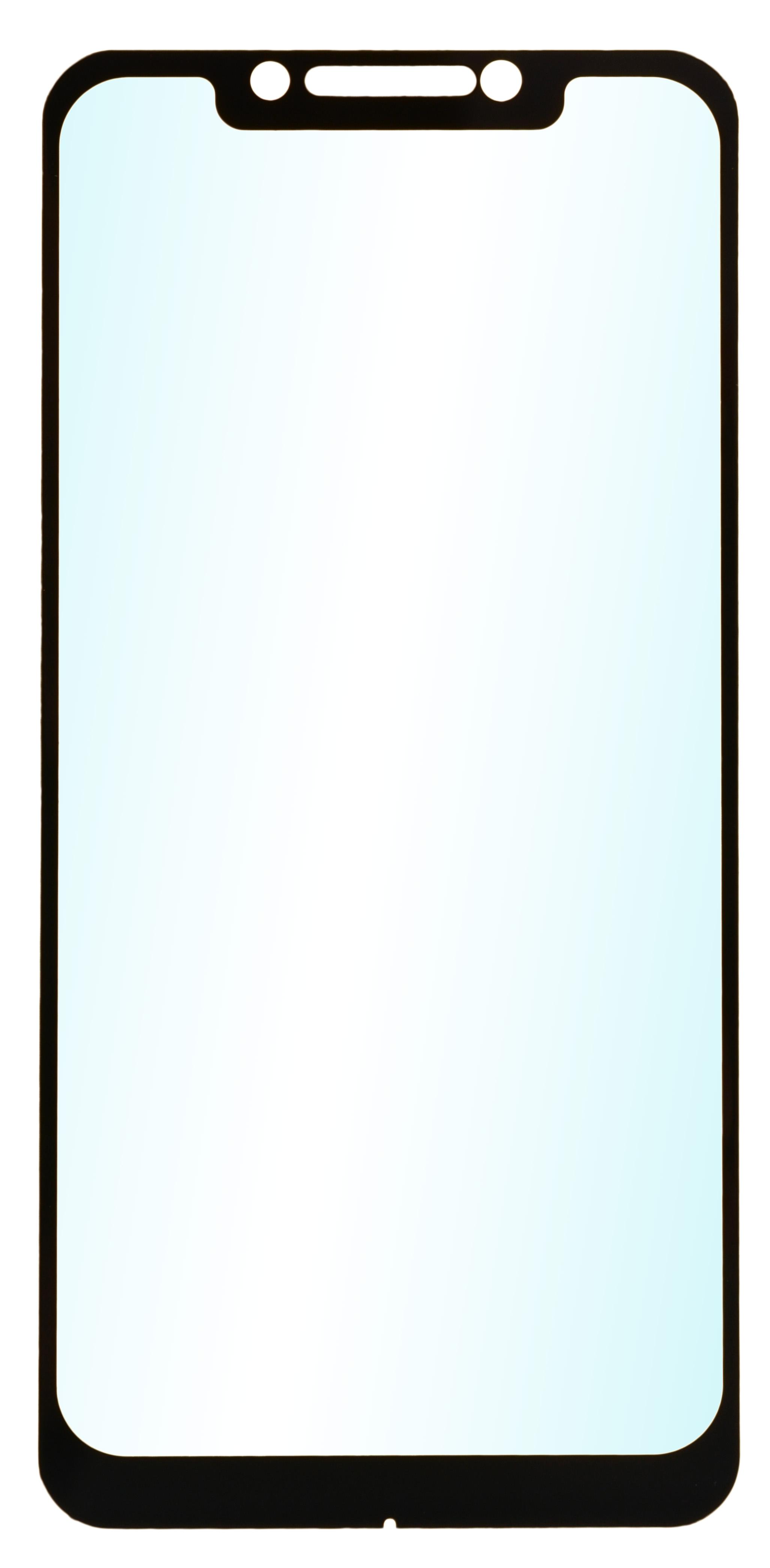 Защитное стекло skinBOX full screen, 4630042522770, черный защитное стекло interstep full screen cover 0 3мм sams a7 2017 a720 black
