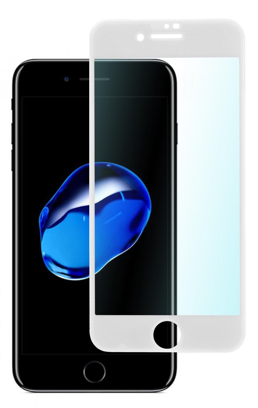 Защитное стекло skinBOX 3D full glue, 4630042522602, белый