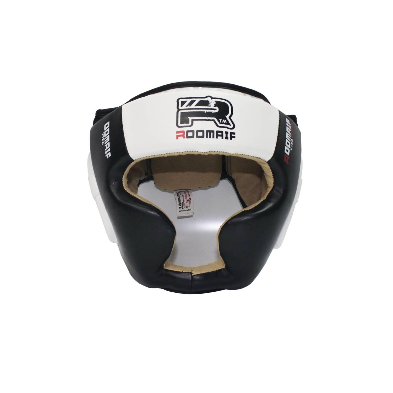 Шлем боксерский Roomaif RHG-150PL, RHG-150PL-1, белый шлем боксерский roomaif rhg 146pl rhg 146pl 9 красный