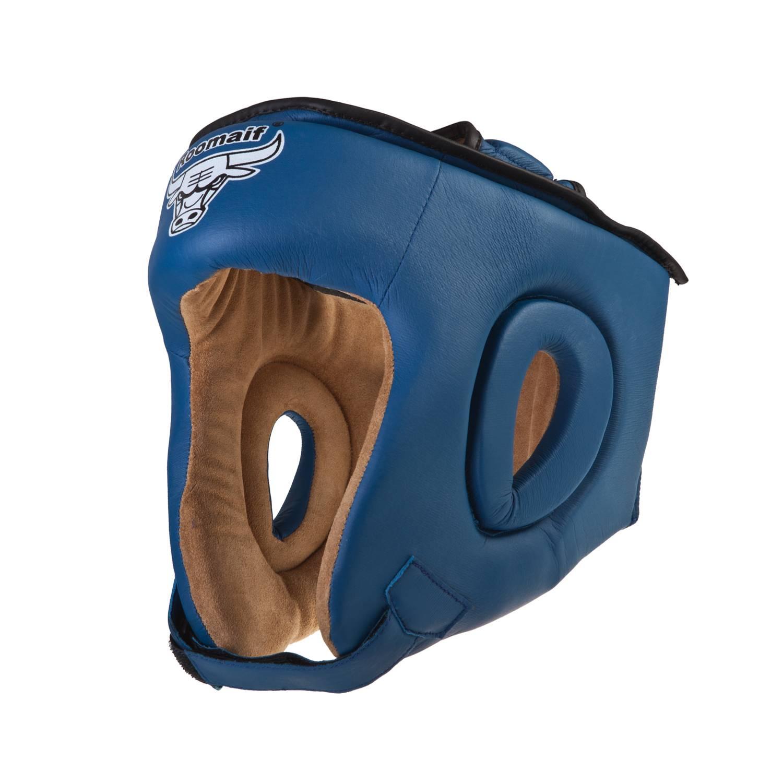 Шлем боксерский Roomaif RHG-146PL, RHG-146PL-2, синий шлем боксерский roomaif rhg 146pl rhg 146pl 9 красный