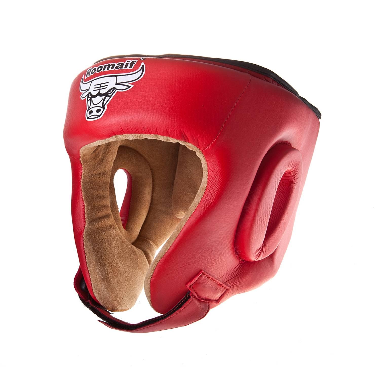 Шлем боксерский Roomaif RHG-146PL, RHG-146PL-12, красный шлем боксерский roomaif rhg 146pl rhg 146pl 9 красный