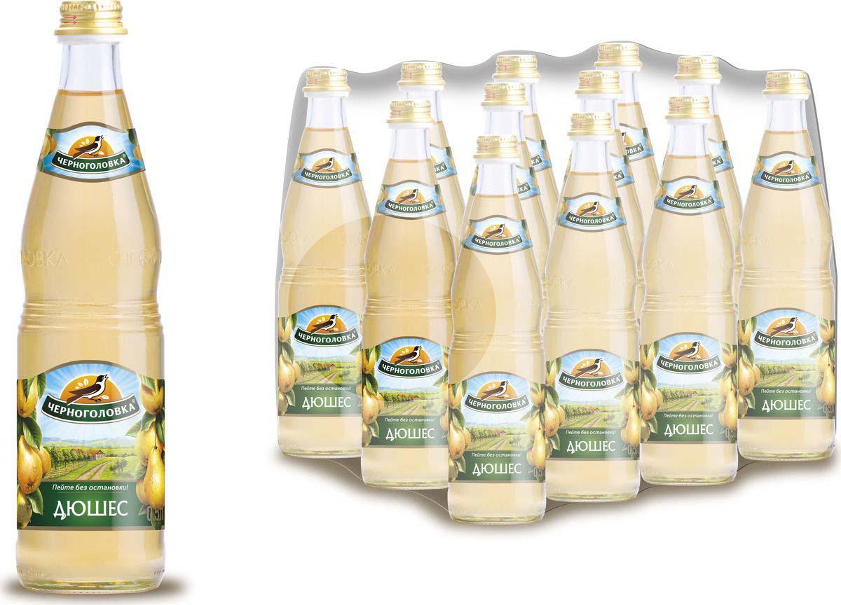 Лимонад Напитки из Черноголовки Дюшес, 12 шт по 500 мл лимонад fruktomania дюшес 12 шт по 0 5 л