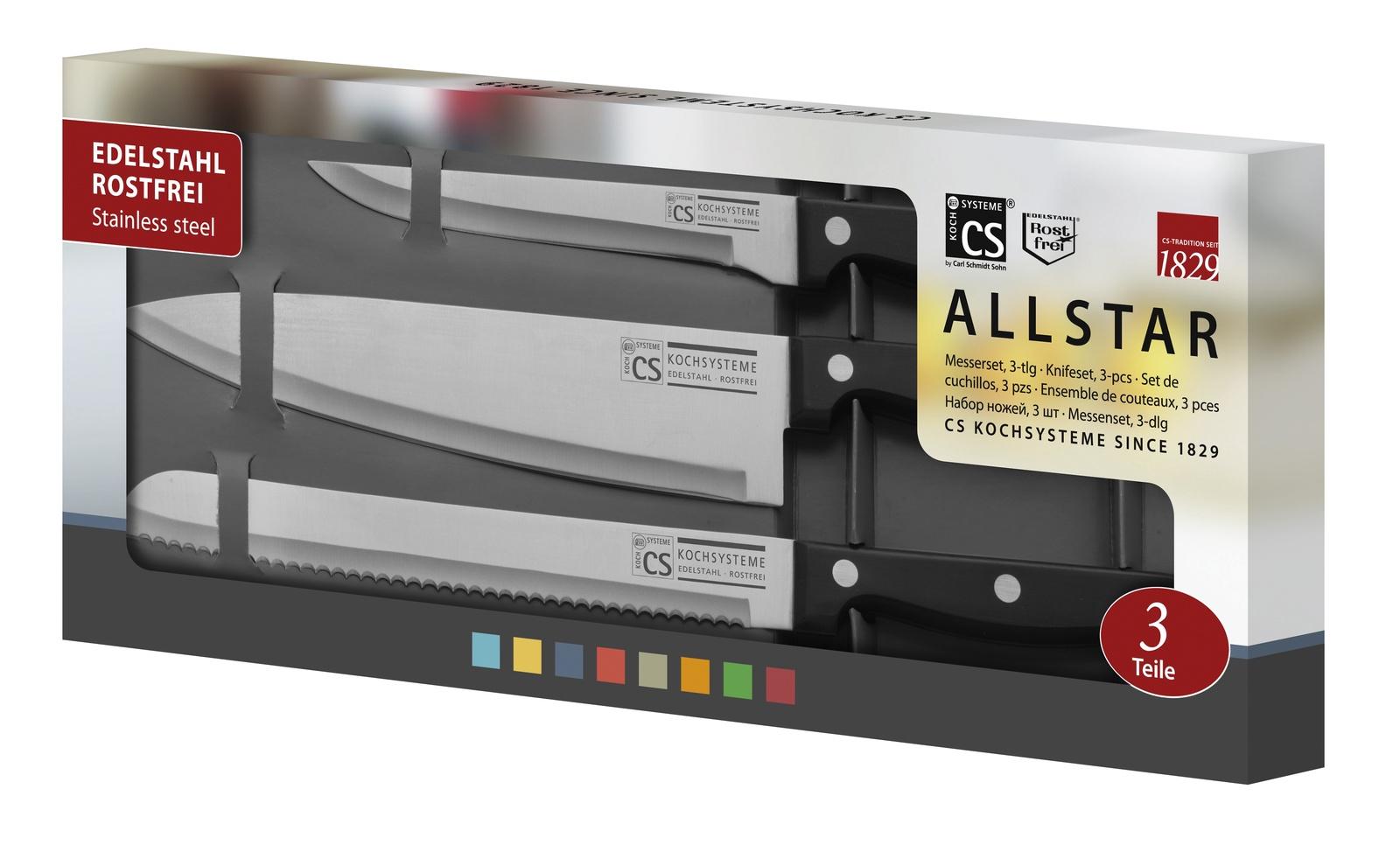 Набор кухонных ножей CS-KOCHSYSTEME CS000189 набор кухонных ножей cs kochsysteme cs000189