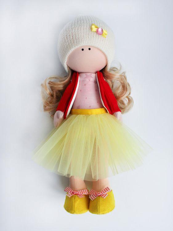 Набор для шитья Цветной Текстильная кукла София, DI047, 35 см аксессуары для шитья scsb017