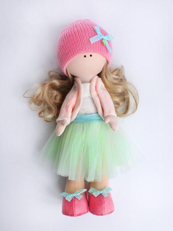 Набор для шитья Цветной Текстильная кукла Изабелла, DI048, 35 см аксессуары для шитья scsb017