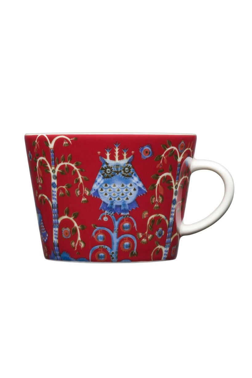 Чашка кофейная Iittala для кофе капучино, 1012485, красный