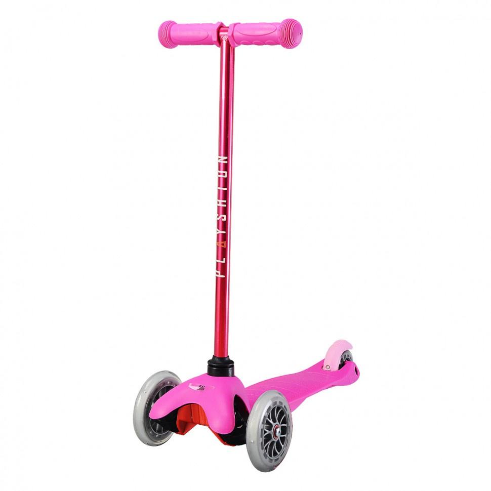 Самокат Playshion FS-MS001V-pink, 5073, розовый самокат playshion mini kids orange